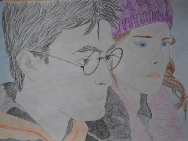 Emma Watson, Daniel Radcliffe by maoui96